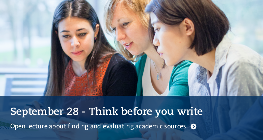 Learn more about finding and evaluating academic sources