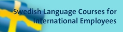 Swedish languge courses for international employees